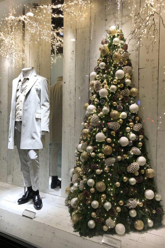 伊勢丹メンズ ウィンドウディスプレイ 「クリスマス2018」
