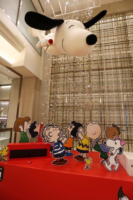 銀座三越 ディスプレイ 「Snoopy in 銀座」