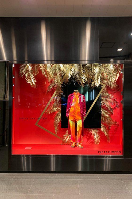 Isetan Men's Window Display / Greatest Surfer
