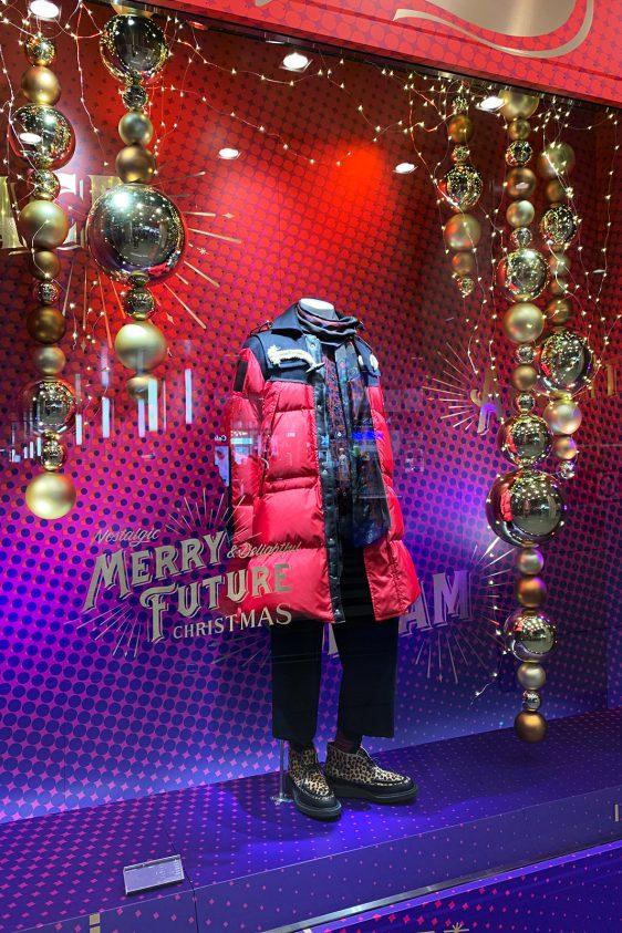 伊勢丹メンズ ディスプレイ 「クリスマス2019」