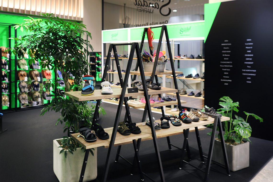 伊勢丹メンズ ポップアップストア 「World Sandal Market」
