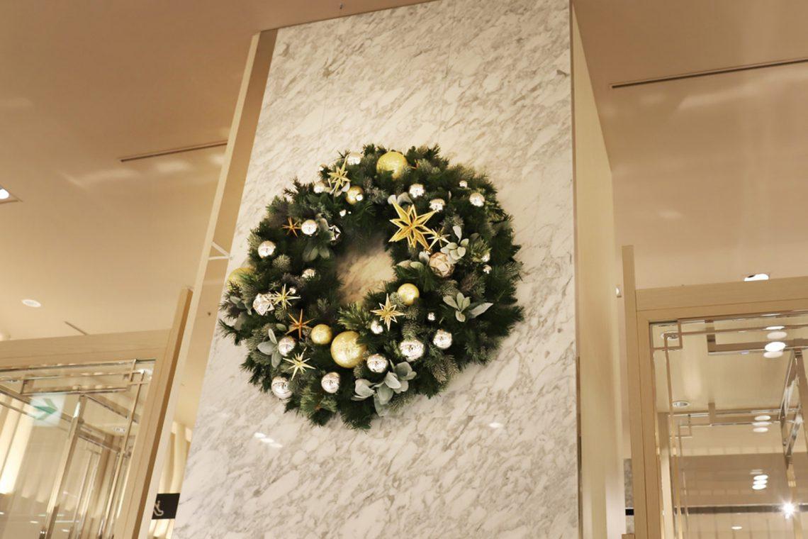 伊勢丹メンズ ディスプレイ 「クリスマス2020」